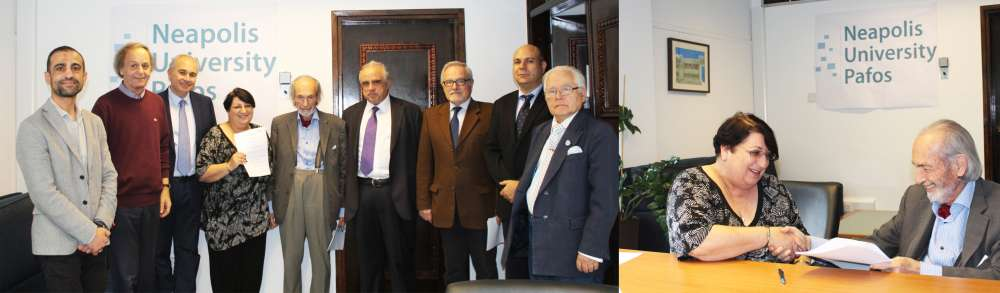 Middlesex and Neapolis Universities agree to award validated degrees to Neapolis programmes