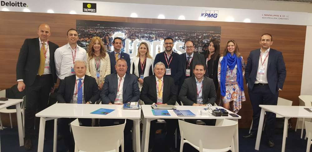 Promoting Cyprus at international property exhibition MIPIM