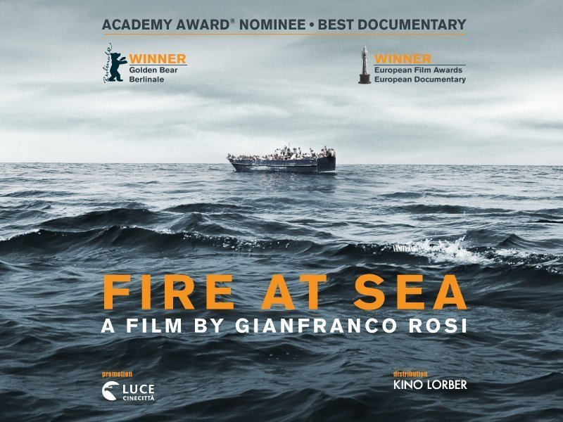 Fuocoammare: documentary about refugees in Larnaca