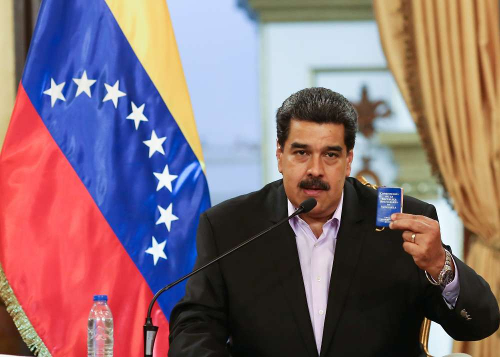 Venezuela's Maduro says he is ready for talks with opposition - RIA