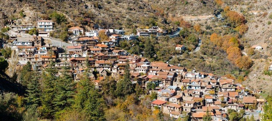 Main 1 - Lefkosia (Nicosia) (Deftera) - Pitsylia Cycling Route