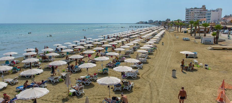 Main 5 - Lefkosia (Nicosia) - Lythrodontas - Mosfiloti - Larnaka (Larnaca) Cycling Route