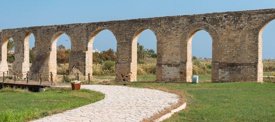 Main 7 - Larnaka (Larnaca) - Athienou - Lefkosia (Nicosia) Cycling Route