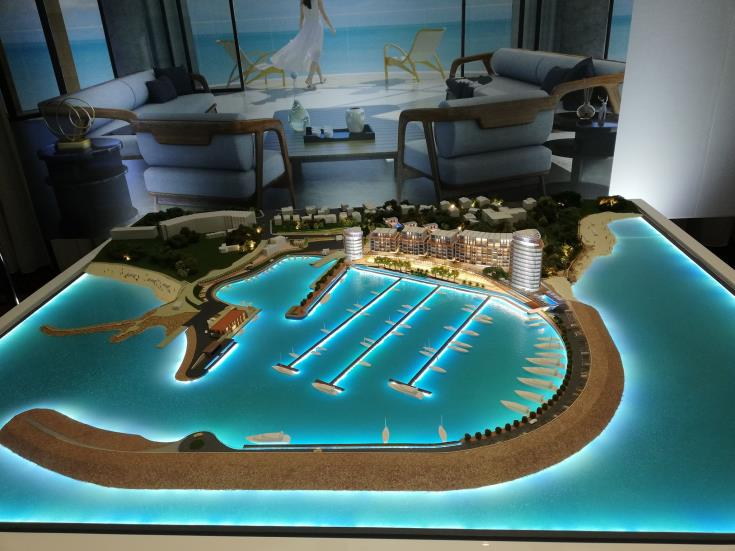 Paralimni marina is the biggest development project ever in the area