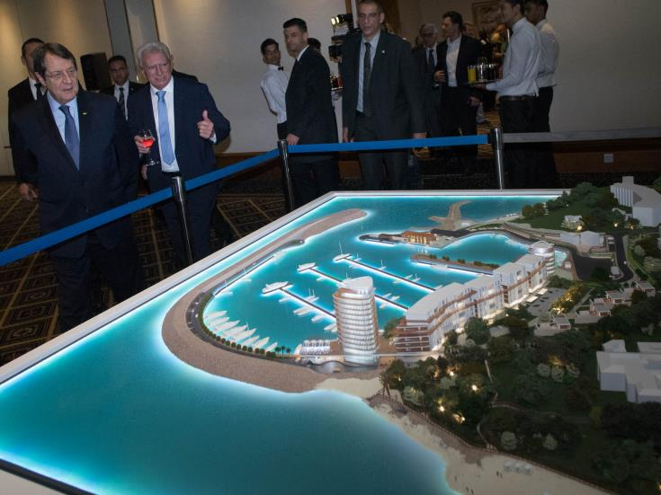 Government pleased with Paralimni Marina project progress