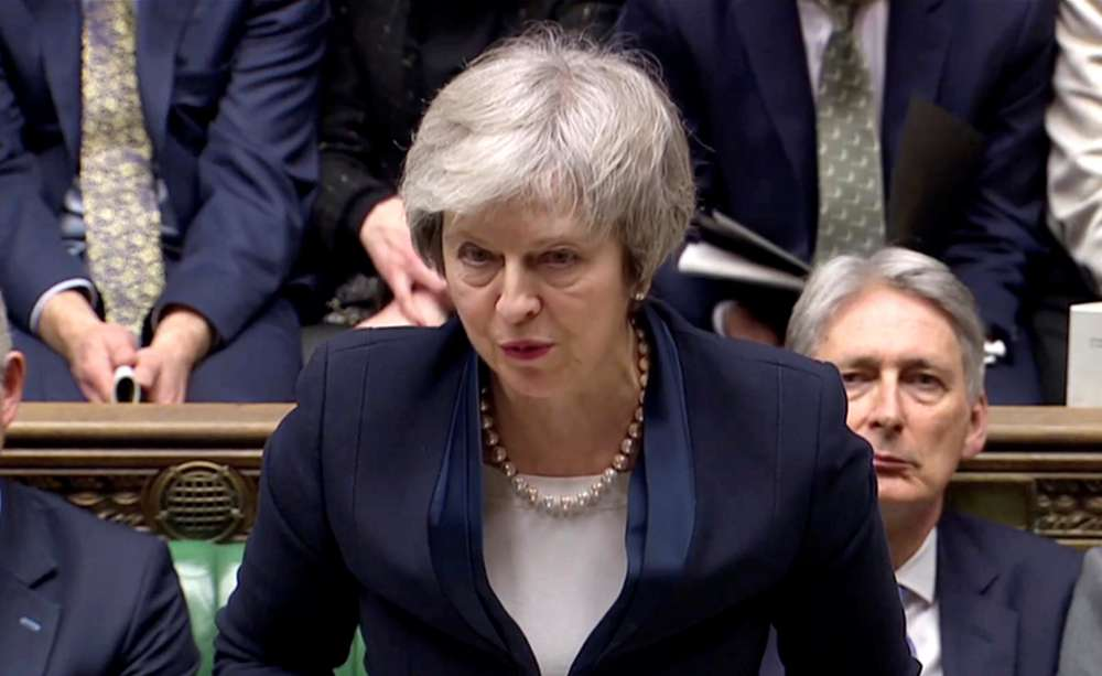 May's statement to parliament after Brexit vote defeat