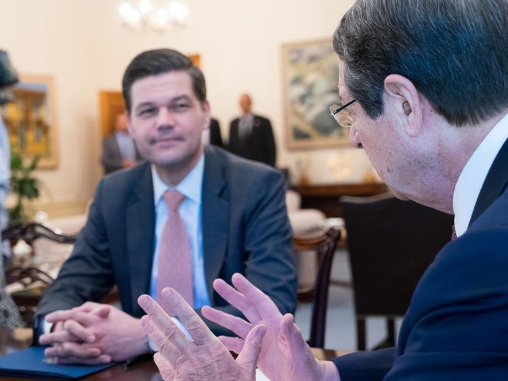 US says working to strengthen security and energy cooperation with Cyprus