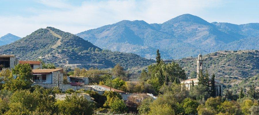 Mountainous Larnaka (Larnaca) - Lefkosia (Nicosia) Wine Route