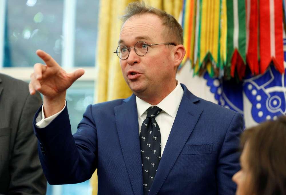 Trump picks Mulvaney as interim chief of staff