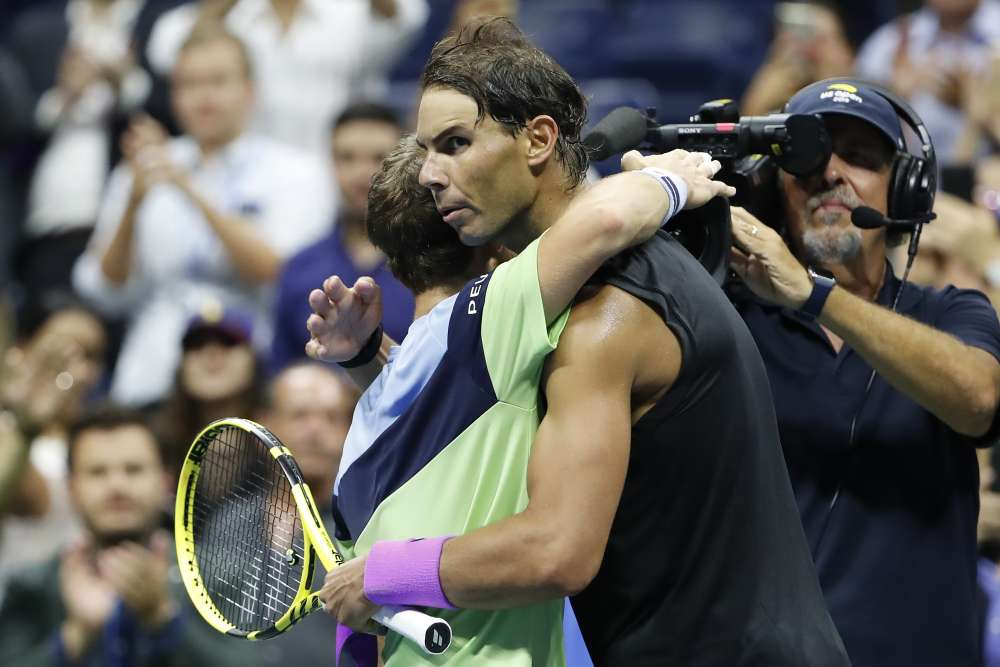 Nadal into semis after big fight from Schwartzman