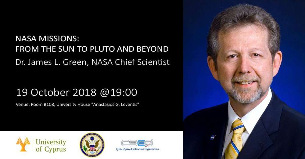 NASA's chief scientist to come to Cyprus