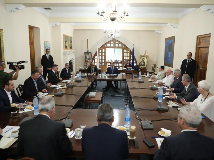 President to brief National Council on Akinci meeting