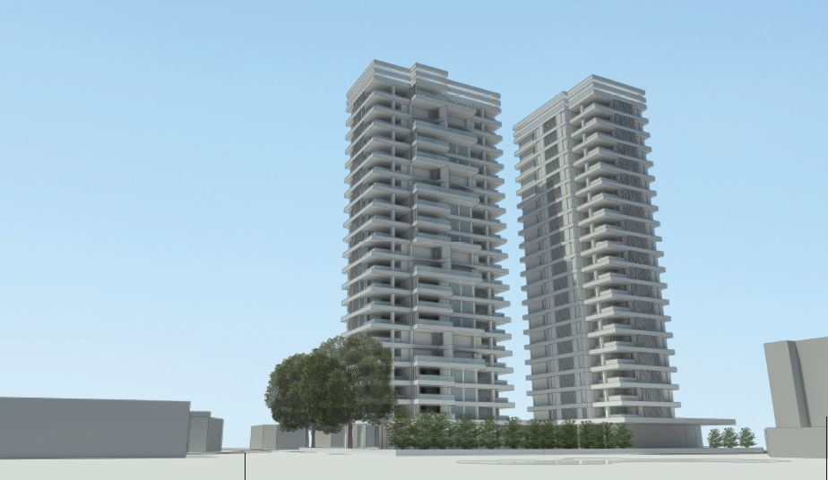 Orion: Two new towers next to Hilton Park