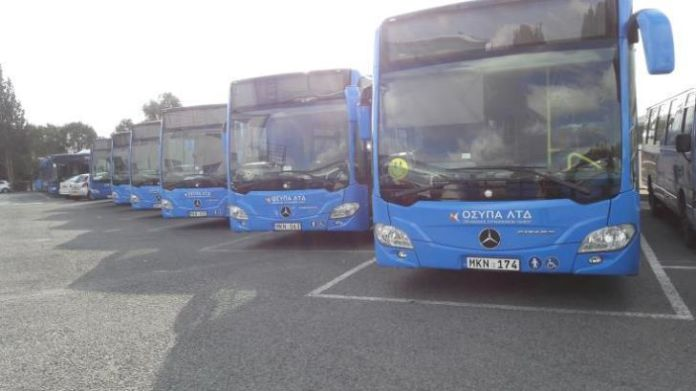 Paphos bus strike in sixth day