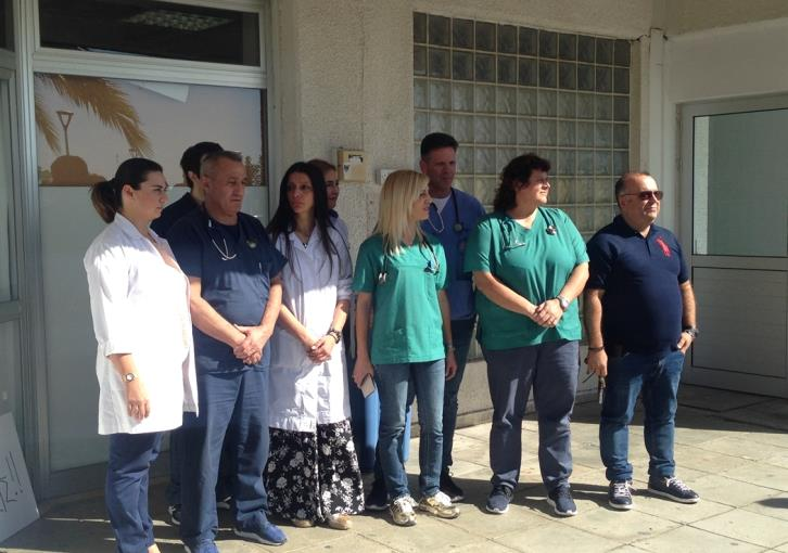 Update: A&E doctors at Paphos hospital abstained from work