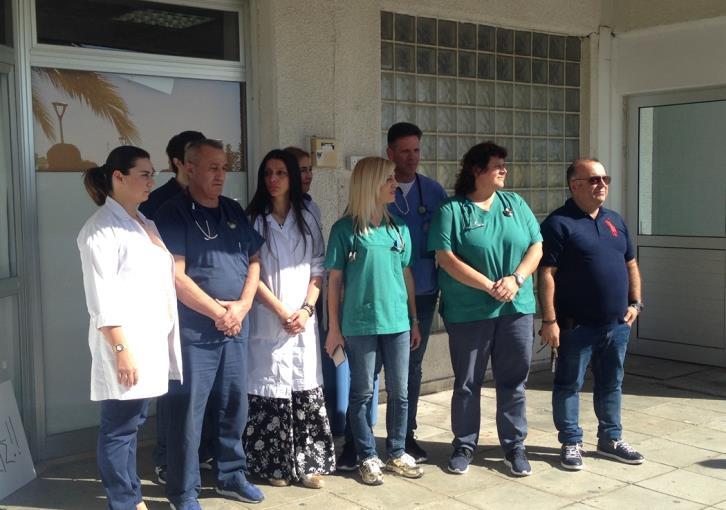 Paphos A&E staff strop strike action