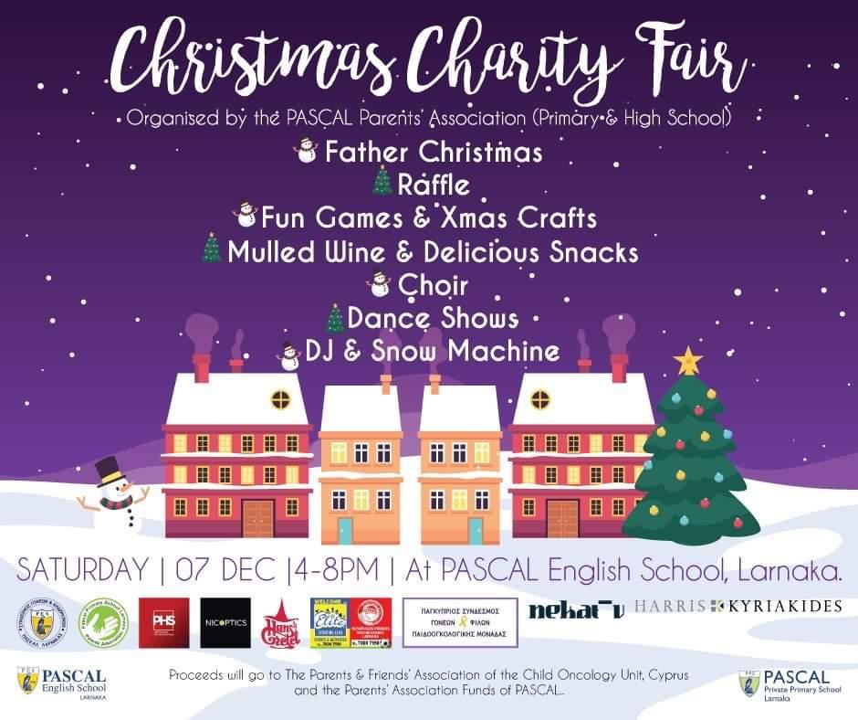 PASCAL School Christmas Charity Fair in Larnaca