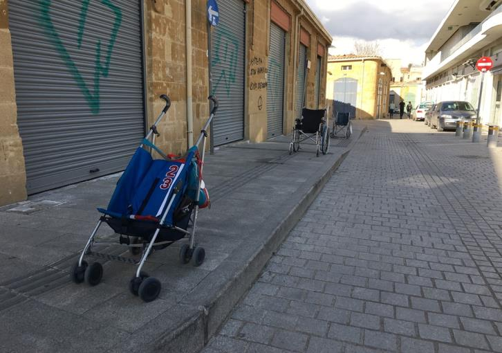 Activists protest over illegal parking on pavements