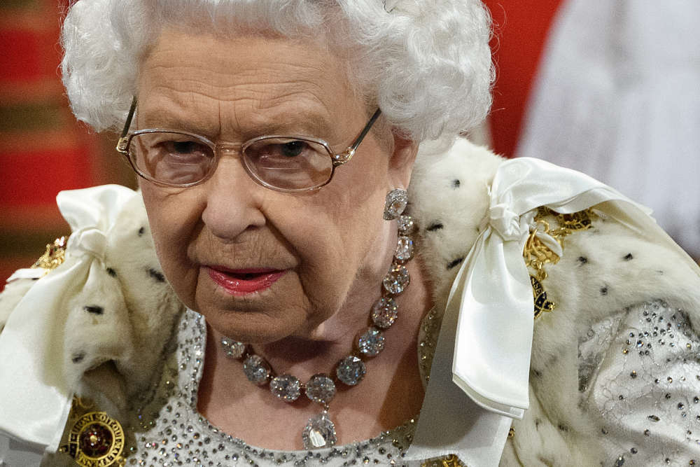 Britain's government set out its agenda in Queen's Speech