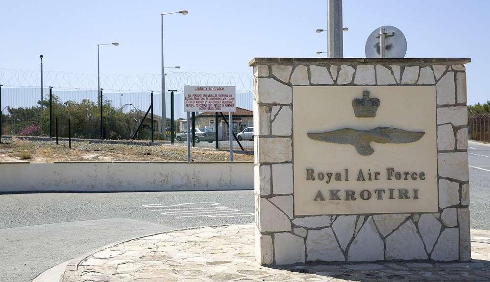 British Bases: Routine military exercise from RAF Akrotiri
