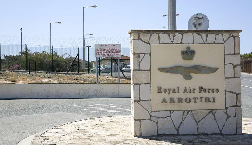 Explosive demolitions at RAF Akrotiri Demolitions Ground