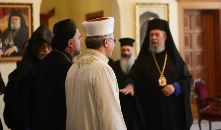 Cyprus' religious leaders welcome forthcoming meeting between Anastasiades and Akinci