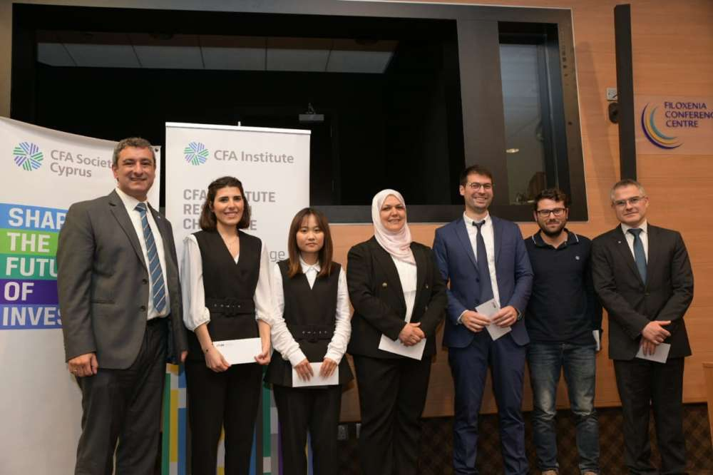 University of Nicosia team wins this year's CFA Research Challenge