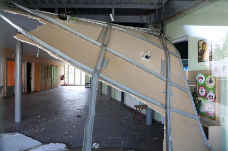 Roof collapses in Nicosia kindergarten