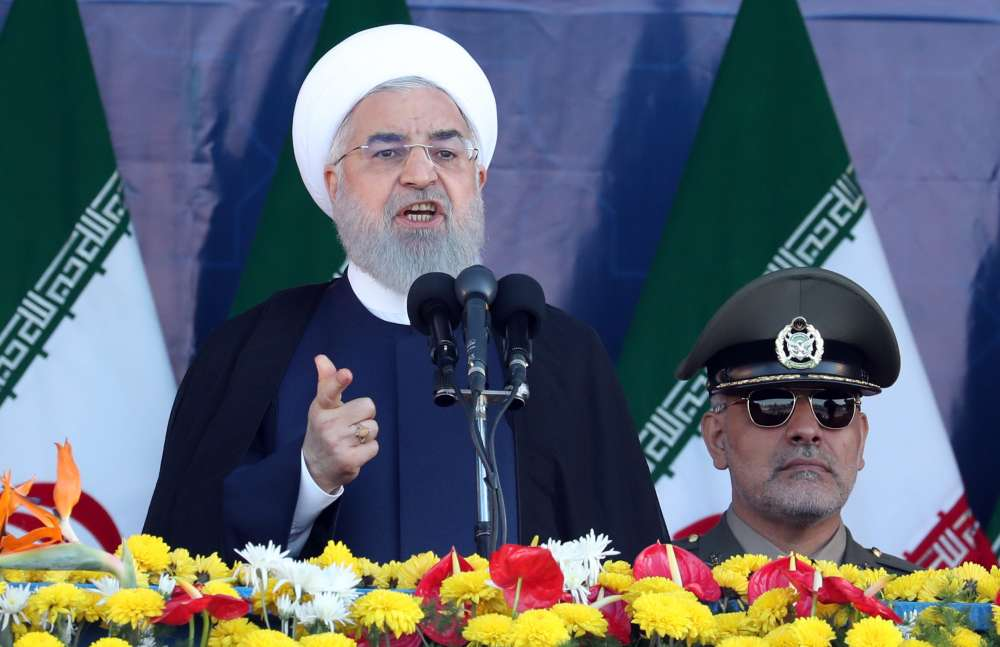 Rouhani says U.S. wants to cause insecurity in Iran but will not succeed