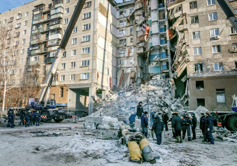 Death toll jumps to 37 in Russian apartment block collapse