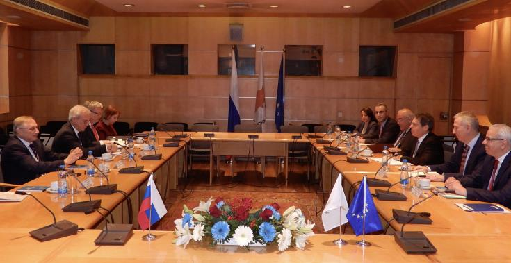 Russia and Cyprus reconfirmed their excellent relations