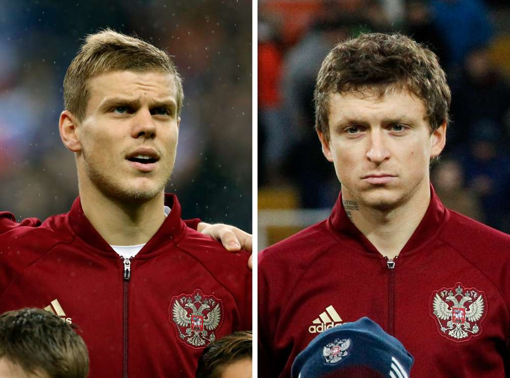 Football: Russian internationals arrested over violent attacks