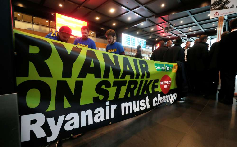 Ryanair reaches deal with German cabin crew union