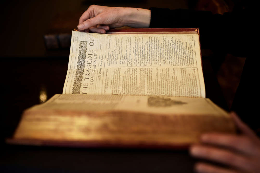 Shakespeare's First Folio to be sold at auction in New York