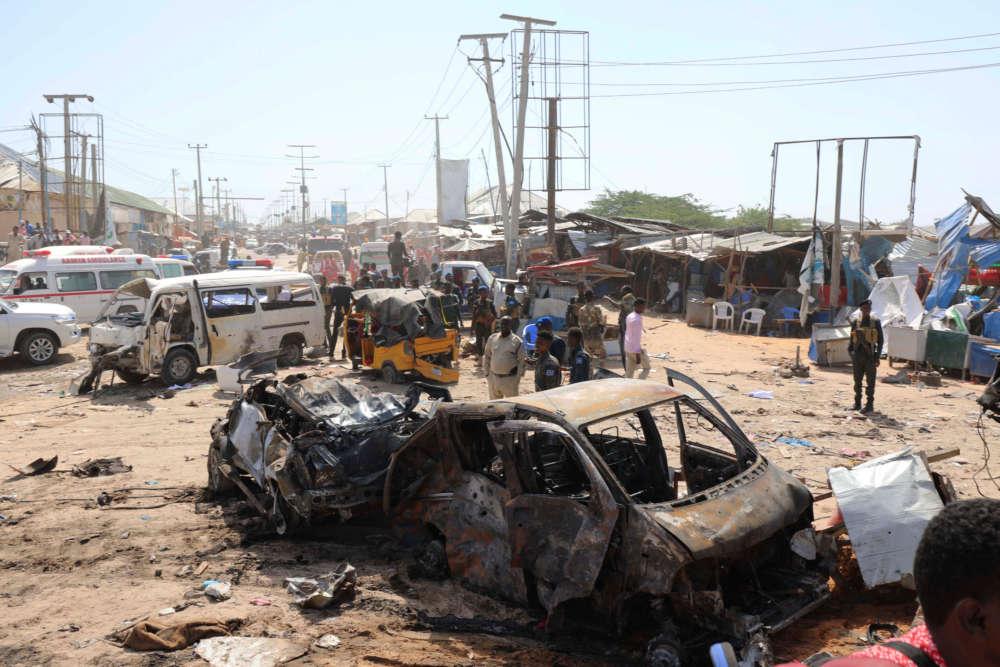 At least 90 people killed in Mogadishu checkpoint blast