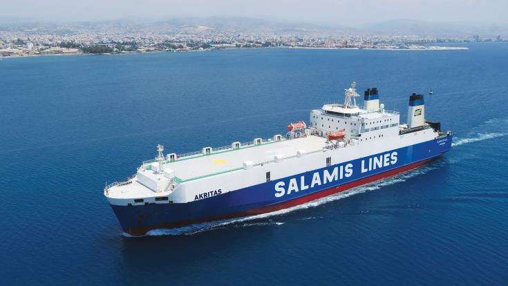 Salamis launches commercial shipping link between Thessaloniki