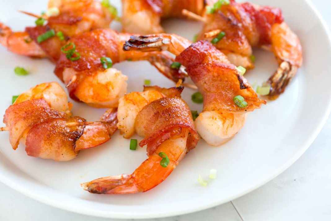 Salmon and shrimp sheftalies