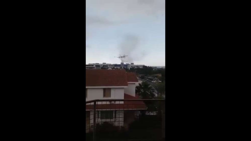 Footage of the Nicosia tornado (video)