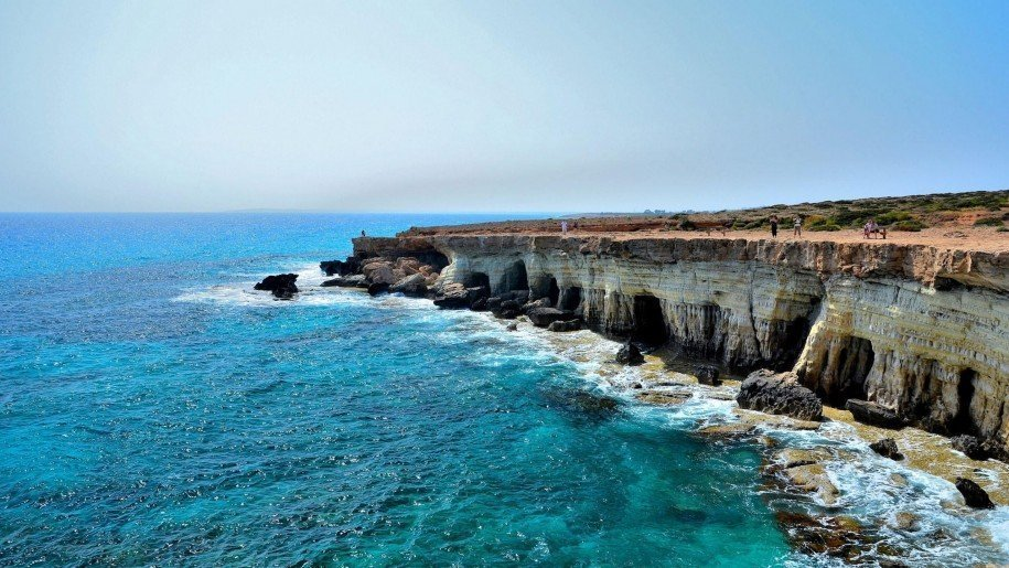 Sea Caves in Paphos and Agia Napa