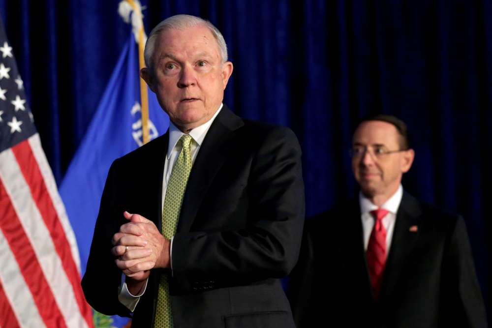 Trump ousts GA Sessions
