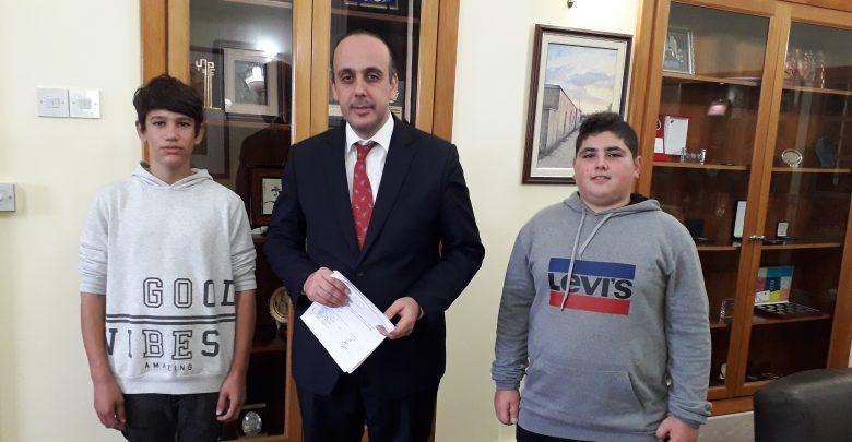 Paphos pupils visited mayor to demand a skatepark