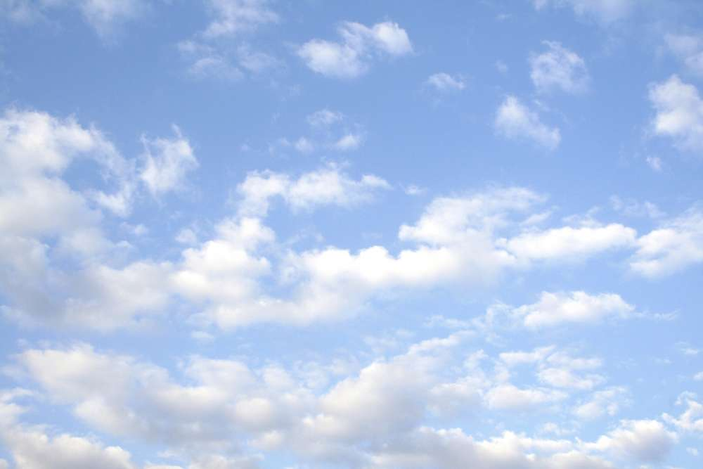 Partly cloudy today with possible isolated showers