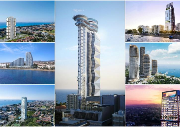 Limassol's 28 skyscrapers (facts+figures)