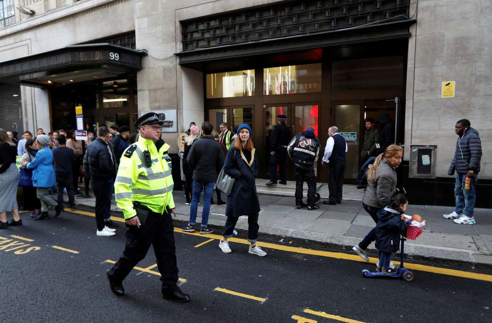 Two stabbed in catering staff bust-up at Sony Music UK HQ