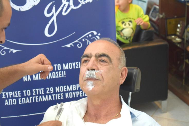 Μovember: Cypriot mayor shaves his moustache for first time in 40 years