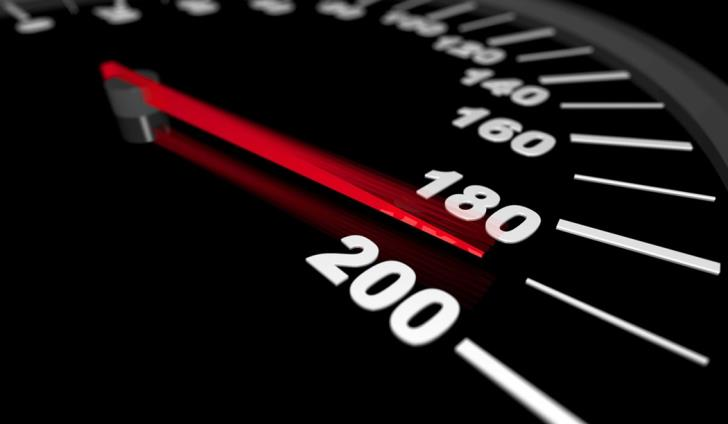 23 year old in custody after being caught speeding at 227 km per hour