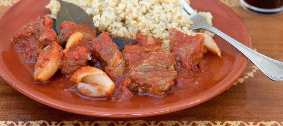 Veal Stew Recipe (Stifado)