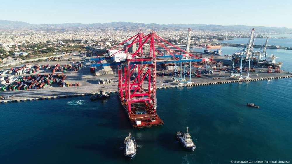 First phase of investments completed at Limassol Container Terminal