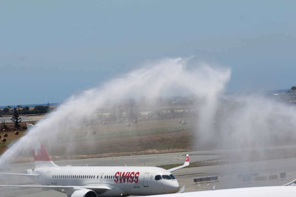 SWISS launches flights from Geneva to Larnaca