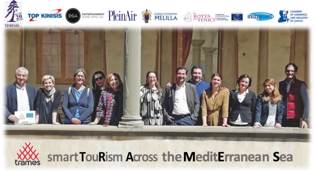 TRAMES  project promotes smart tourism across Mediterranean
